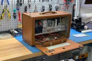 vintage radio repair, More Than Vacuums repair shop