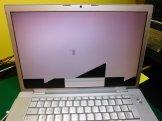 MacBook Pro A1150 Artefatti lcd