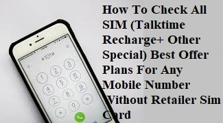 All Recharge Plans | Info,price,Recharge offers,Ussd codes
