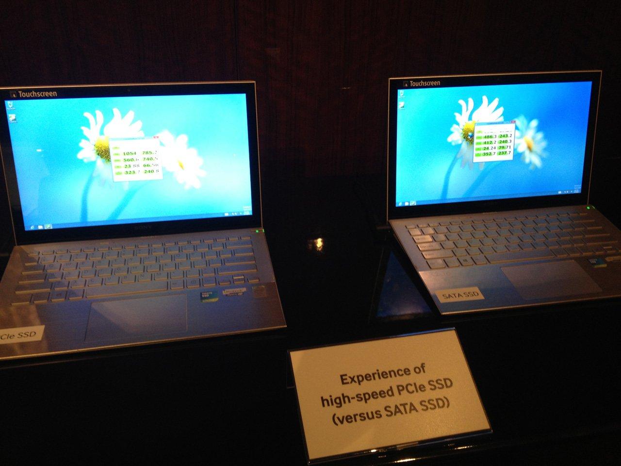 Samsung Zeigt Sony VAIO Pro Mit PCIe SSD