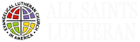 all saints lutheran church header logo