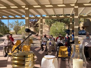 Outdoor worship returns on March 7, 2021