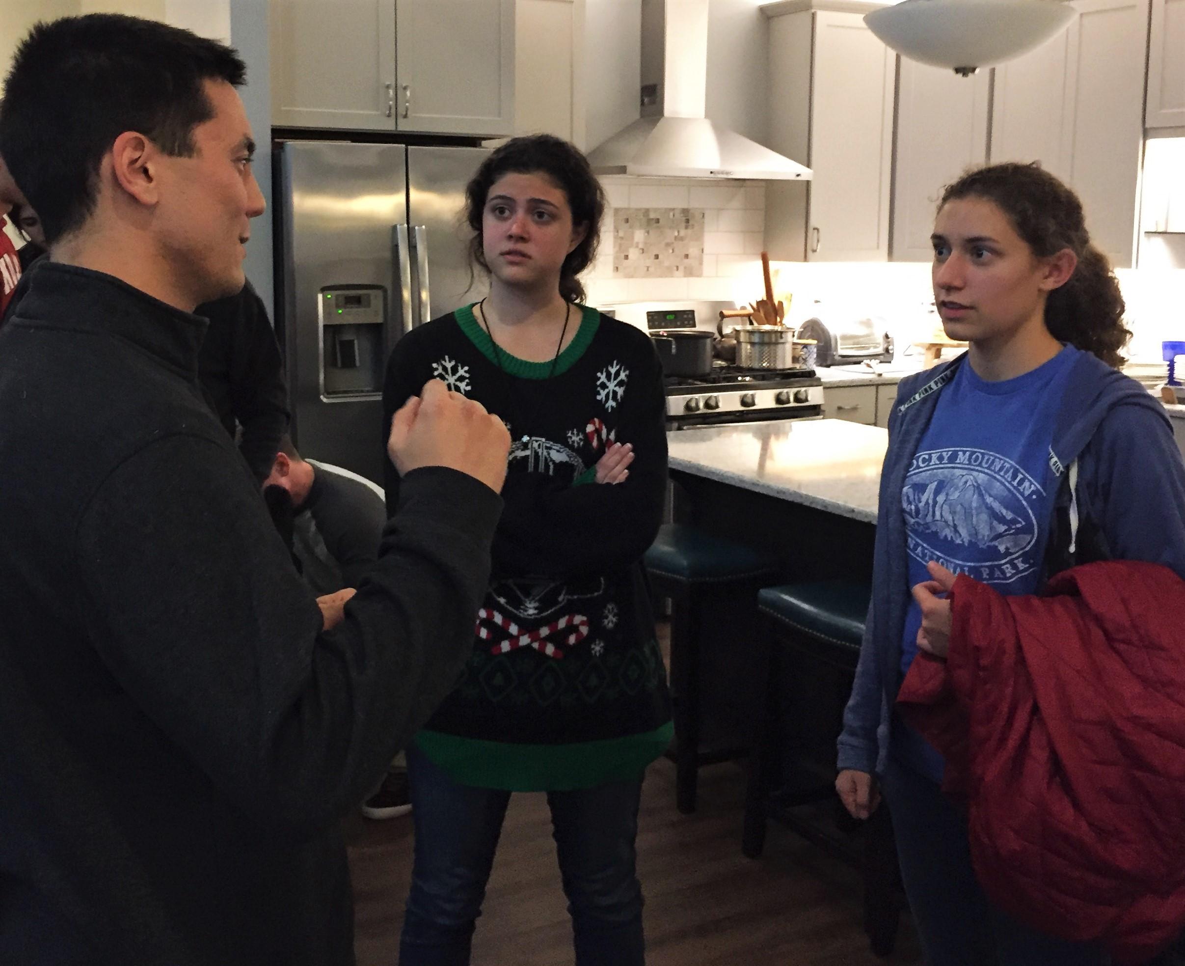 Aaron explains a trick MMA move
