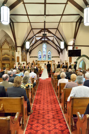 All Saints' Wedding