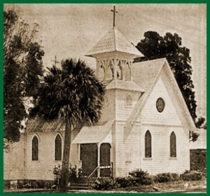 All Saints' Episcopal Church is a fine example of Carpenter Gothic style architecture.