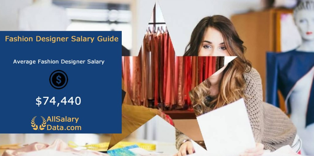 Fashion Designer Salary Guide Average Salary 2020