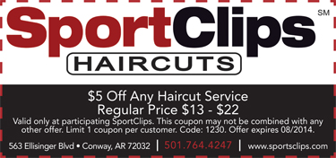 Sport Clips Coupons