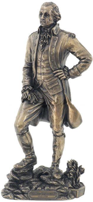 George Washington Standing Tall Sculpture Stu Home