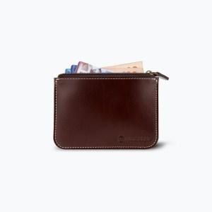 กระเป๋าเงิน หนังแท้ Small Cenci Money Case - สีน้ำตาลแดง
