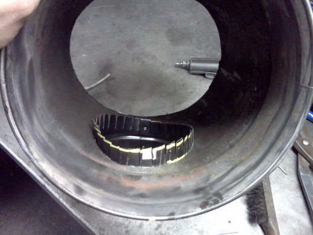 D I Y Woodstove Heat Exchanger