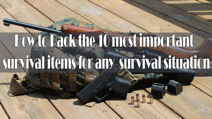important survival items