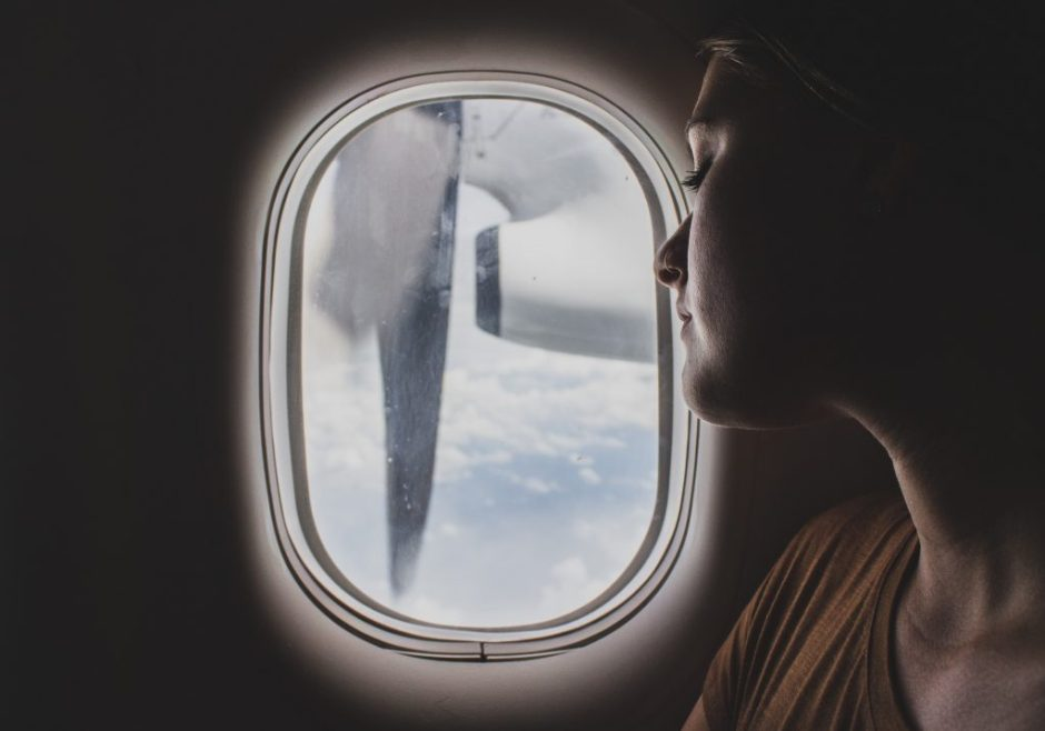 care for your skin on the plane