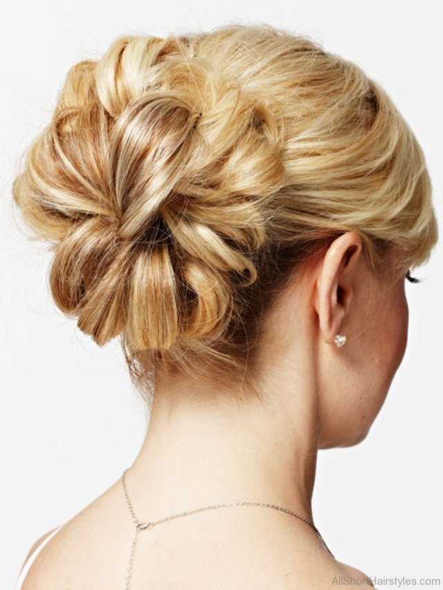 31 stylish short updo hairstyle