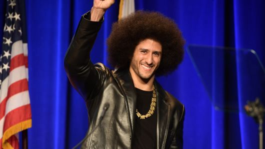 Colin Kaepernick featured in Nike