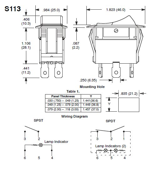 lighted rocker switch wiring diagram | Decoratingspecial