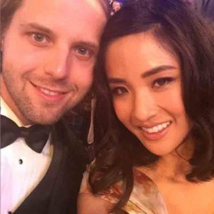 Constance Wu with her boyfriend