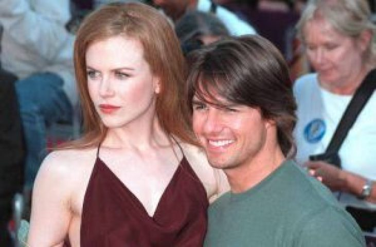 Nicole Kidman with her Ex-husband Tom-Cruise