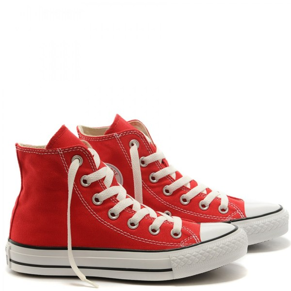Converse Chuck Taylor All Star Red Canvas High Top