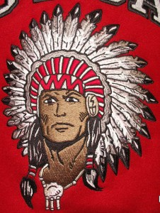 All-Star Embroidery Utica Redskins Indian Head
