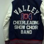 Licking Valley Girl Varsity Jacket Back