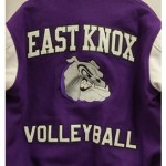 East Knox Varsity Jacket Back