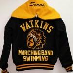 Watkins Varsity Jacket Back