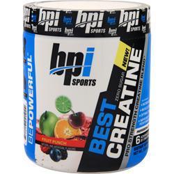 BPI Best Creatine Fruit Punch 300 grams