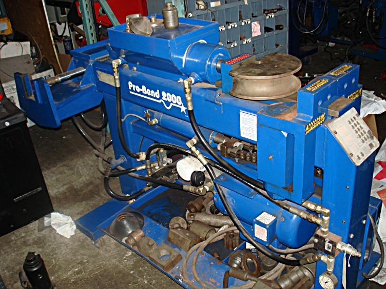 exhaust pipe bender used pipe bender