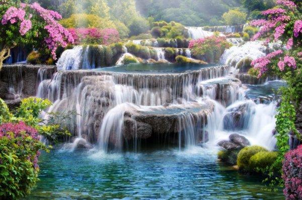Фотообои Водопад 3Д купить на Стену — Цены и 3D Фото ...