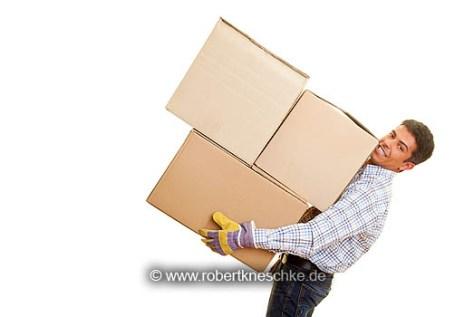 Schwere Kisten