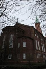 ehemalige Friedenskirche jetzt eine Wohnkirche