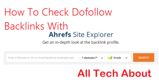 Check Dofollow Backlinks