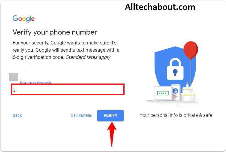 create a G-mail account