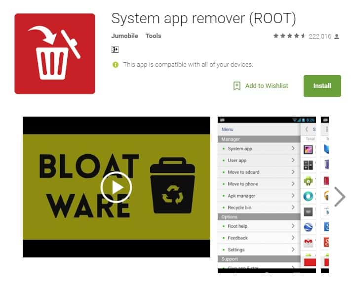 system app