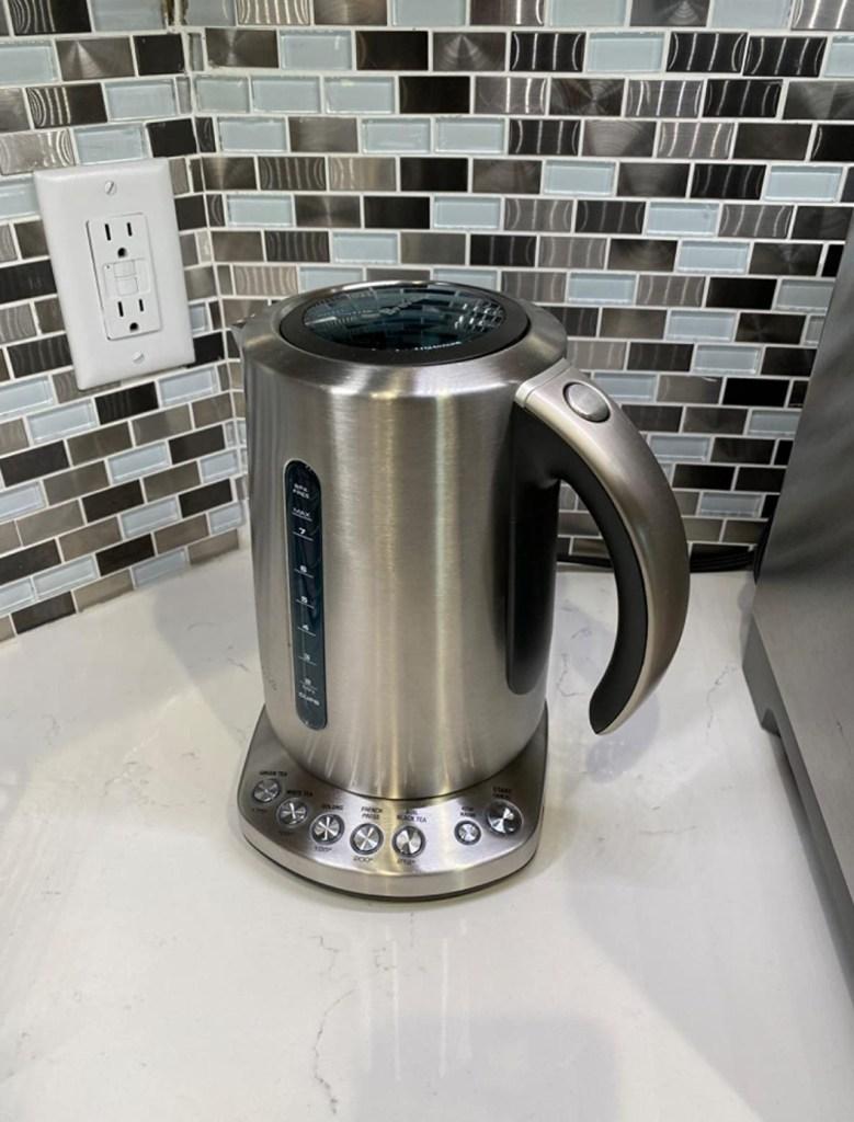 A lightweight kettle for elderly by Breville.