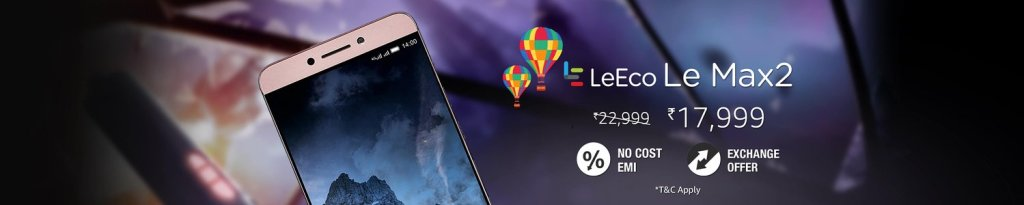 amazon diwali sale offers on leeco l2 max