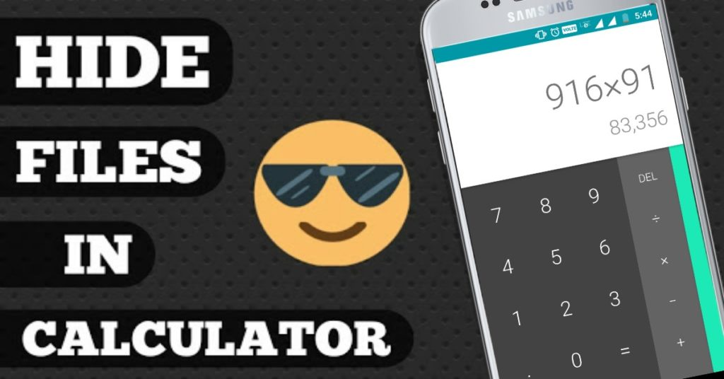 How to Hide Files and Folders Inside Calculatoron Android