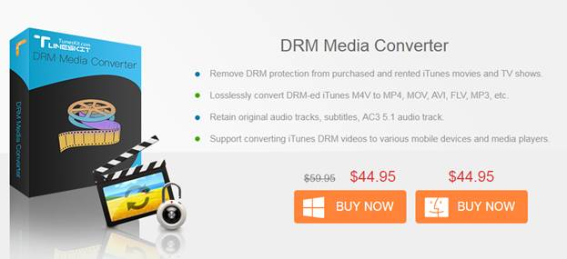 TunesKit DRM Media Converter for Windows