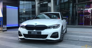 THE ALL-NEW BMW 3 SERIES DRIVING CUBE
