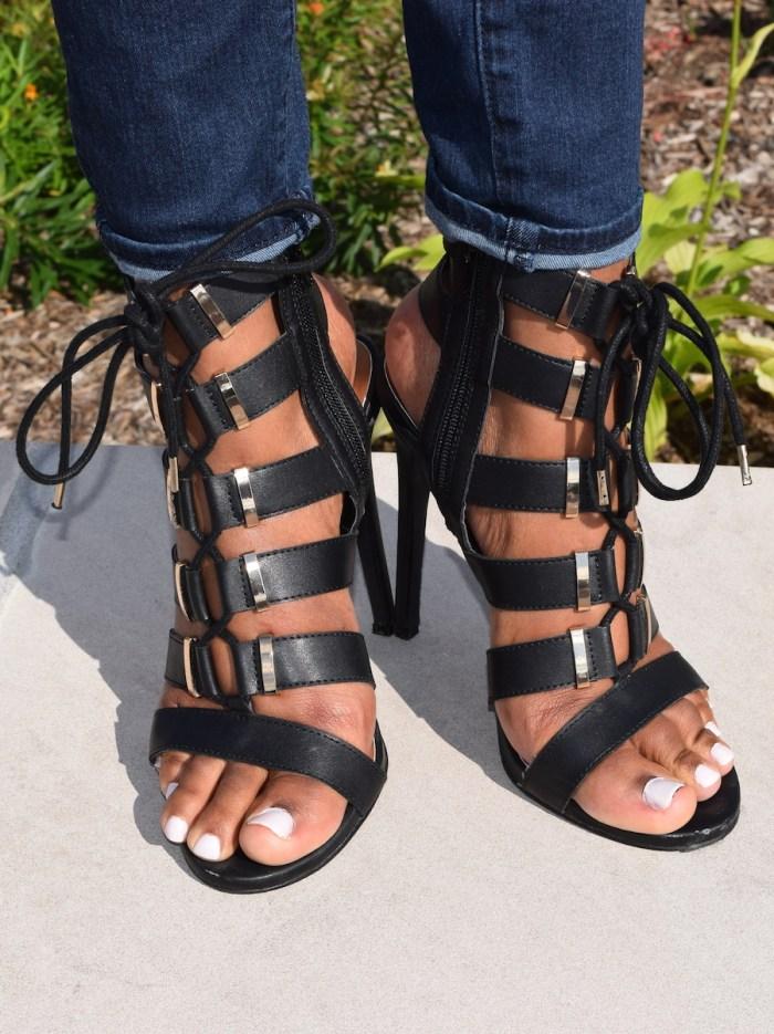 black-lace-up-sandals-heels
