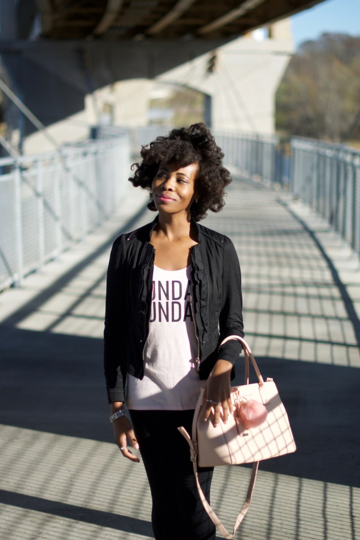 express-one-eleven-pink-sunday-funday-tee