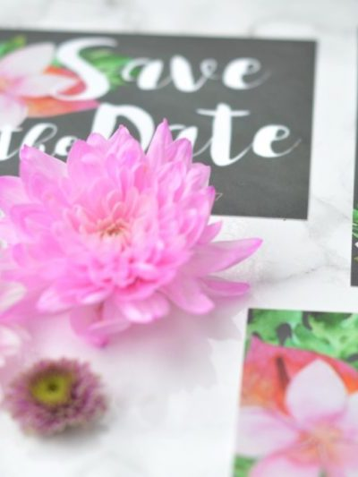 How to Print Wedding Invitations at Home