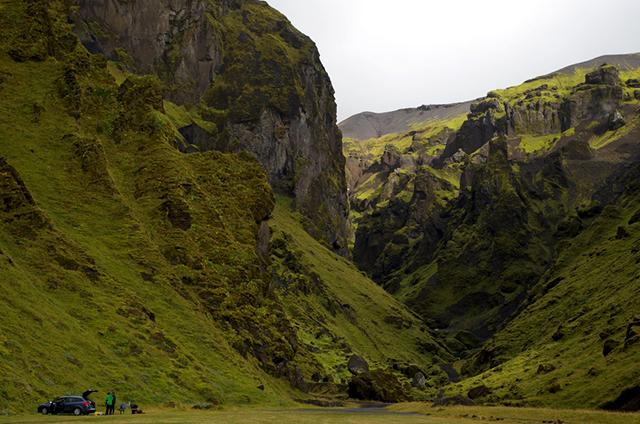 Þakgíl Iceland