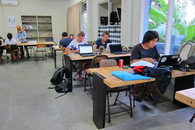 coworking spaces in Ubud, Bali