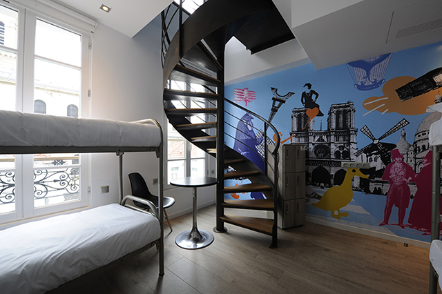 hostels in Paris