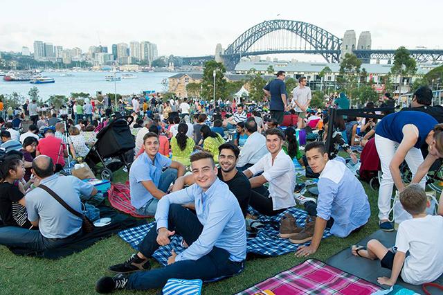 celebrate NYE in Sydney