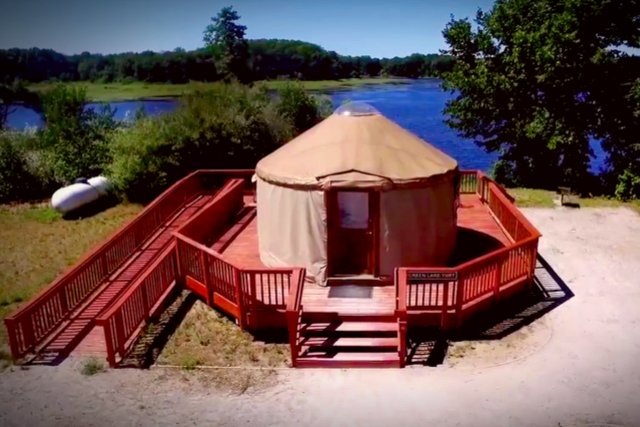 The Best Glamping in Michigan - AllTheRooms - The Vacation