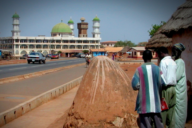 A glimpse of the Tamale township.