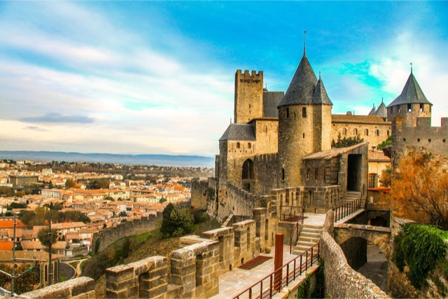 Château de Carcassonne france