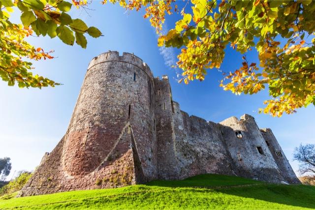 Wales Chepstow Castle